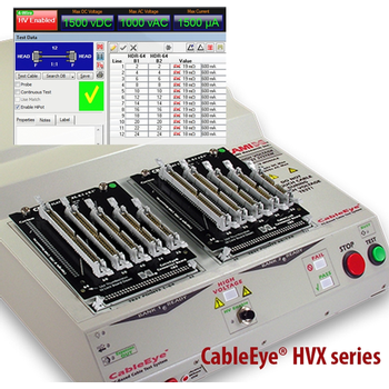 High Voltage, Continuity & Hipot, Cable & Wire Harness Test Systems