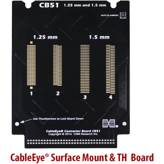 CableEye Generic Surface Mount & TH Board | Cable & Harness Tester