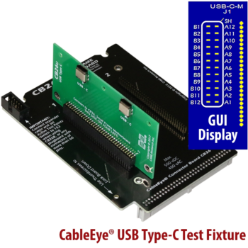 USB Type-C Test Fixture | CB26U | Cable & Harness Tester
