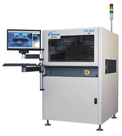 In-Line Dual Sided AOI  for Conformal Coating & Parts