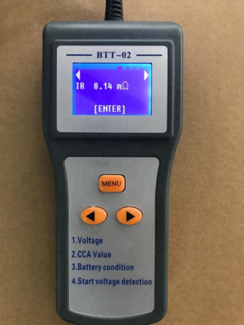 New Battery Conductance Tester