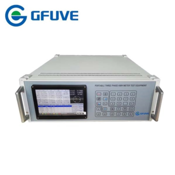 PORTABLE THREE PHASE ELECTRIC METER TEST BENCH