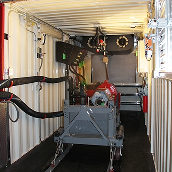 Mobile Testing Center (Mobile Test Cell)