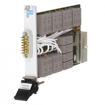 Single 16-Channel 1-Pole 16 Amp PXI Power Multiplexer