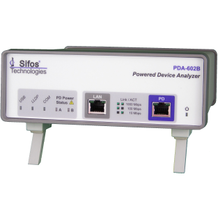 Powered Device Analyzer for IEEE 802.3at PoE PD Analysis